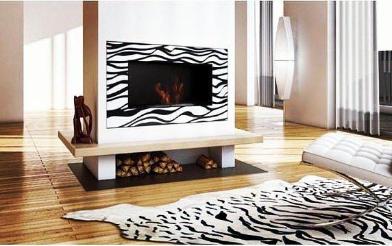 Биокамин Kratki Delta 2 <br>  Zebra