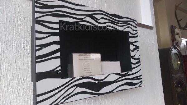 Биокамин Kratki Delta <br> Zebra