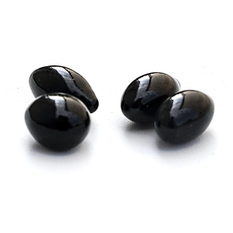 Камни FIRE GLASS  Kratki черные