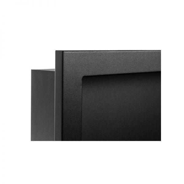 Биокамин NiceHouse 3D<br> 120х40 черный глянец