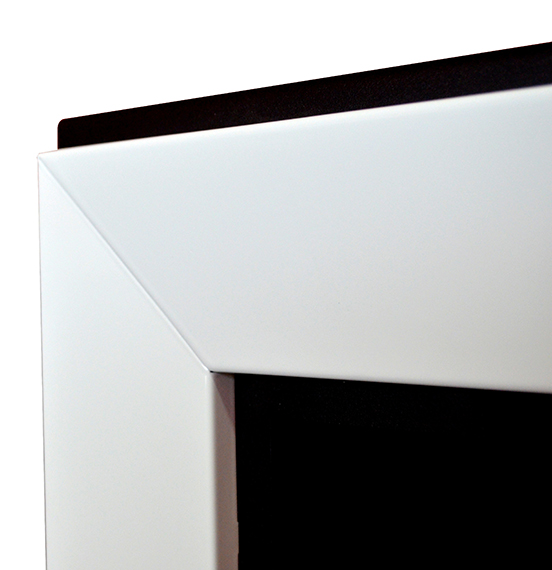Биокамин Frame  <br> 120cm белый