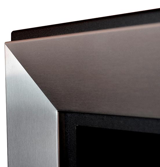 Биокамин Frame  <br> 120cm стальной