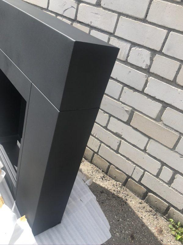 Биокамин выставочный Kratki <br> WHISKEY 2 черный со стеклом