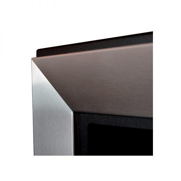 Биокамин Frame 550  <br> стальной