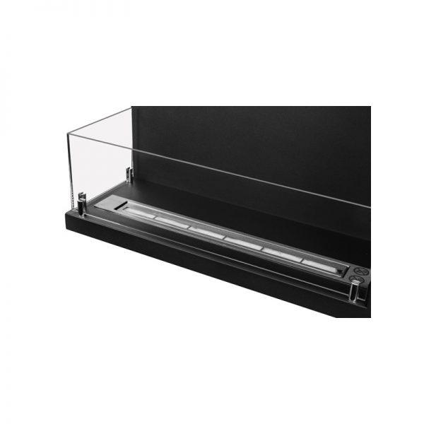 Биокамин Line-L 60 см <br> со стеклом левый