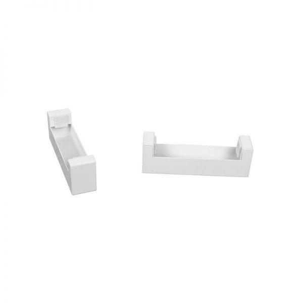 Биокамин NiceHouse BOX со стеклом<br>  90см На пол, белый