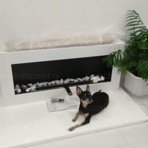 Биокамин NiceHouse BOX 90х40 белый