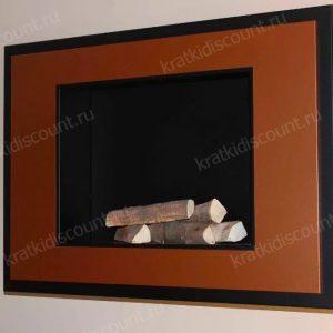 Биокамин Kratki ALPHA коричневый (медь)