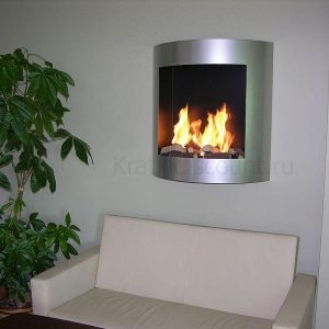 Биокамин Kratki AF Auto Fire серебро