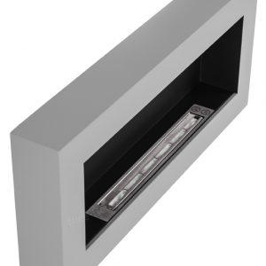 Биокамин NiceHouse BOX 90х40 серый