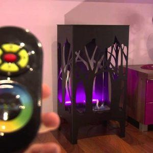 Биокамин Kratki Foxtrot LED подсветка