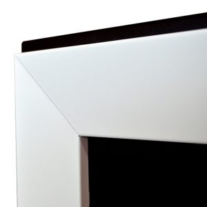Биокамин Frame 120cm белый