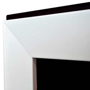 Биокамин Frame 180cm белый