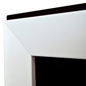 Биокамин Frame 90cm белый