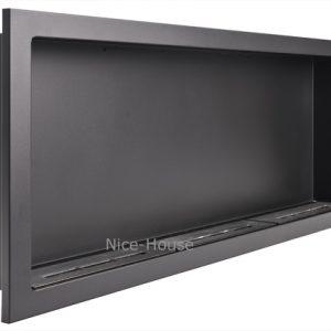 Биокамин NiceHouse 120х46 черный
