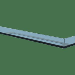 Стекло для камина Delta 120 правый угол