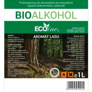 Биотопливо EcoLine с запахом леса 1L EU
