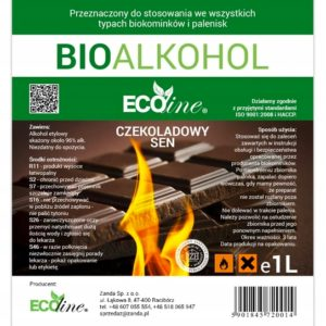 Биотопливо EcoLine с запахом шоколада 1L EU